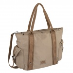 304-901-23 ΤΣΑΝΤΑ ΩΜΟΥ CAMEL ACTIVE WOMAN ARUBA BEIGE