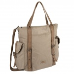 304-902-23 ΤΣΑΝΤΑ ΩΜΟΥ CAMEL ACTIVE WOMAN ARUBA BEIGE